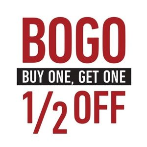 BOGO 1/2 Month of May!